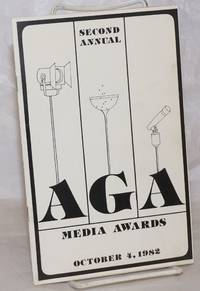 image of Second Annual AGA Media Awards [program] October 4, 1982