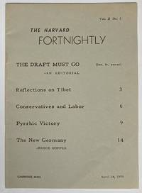 image of The Harvard Fortnightly. Vol. 2 no. 2 (April 24, 1959)