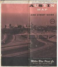 New Revised Enlarged Map & Street Guide Of Austin, Texas 1956
