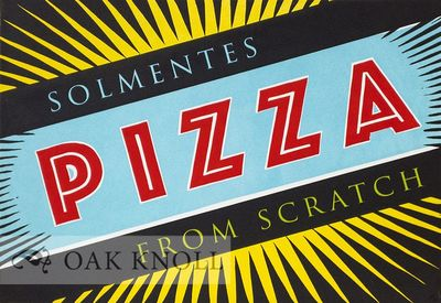 Decorah, IA: Solmentes Press, 2017. Solmentes Press. Limited to 40 numbered copies, of which this is...