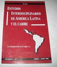 image of Estudios Interdisciplinarios de America Latina y el Caribe Volumen 3, No. 1, Enero-Junio 1992