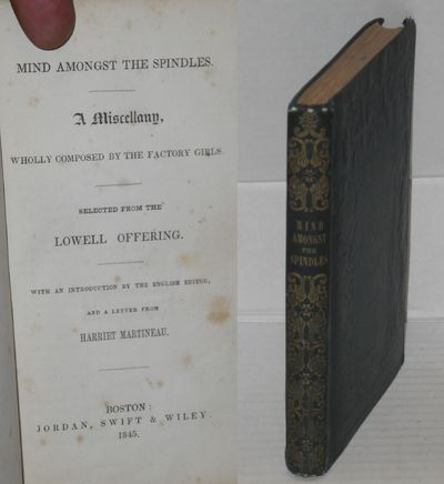 Boston: Jordan, Swift & Wiley, 1845. Hardcover. xix, 214p., first American edition, some foxing, a f...