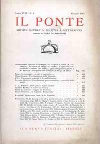 IL PONTE - GIUGNO 1961