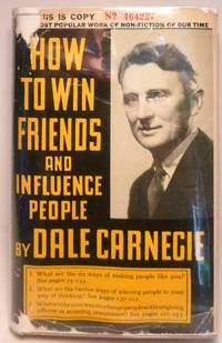 How to Win Friends and Influence People by  Dale Carnegie - Hardcover - Signed - 1937 - from Peter Austern & Co. Books & Ephemera / Brooklyn Books (SKU: 74xxi)