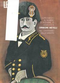 Orneore Metelli nel centenario della nascita. (Numero, monografico,  di supplemento della rivista \