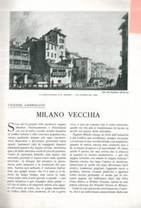 Milano vecchia.
