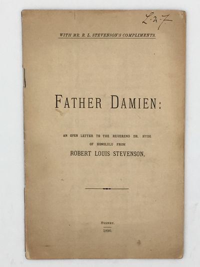 Father Damien: An Open Letter to the...