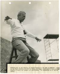 image of 55 Days at Peking (Original keybook photograph of director Nicholas Ray on the set of the 1963 film)