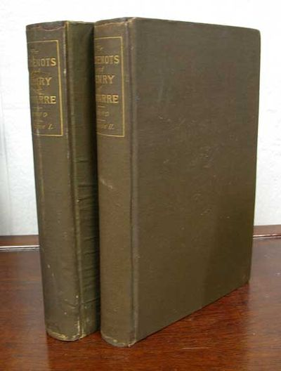 New York: Charles Scribner's Sons, 1886. 1st US edition. Olive green cloth binding with gilt stamped...