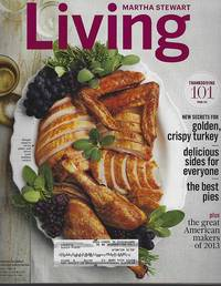 MARTHA STEWART LIVING MAGAZINE NOVEMBER 2013 by  Martha Stewart - 2013 - from Gibson's Books (SKU: 84667)