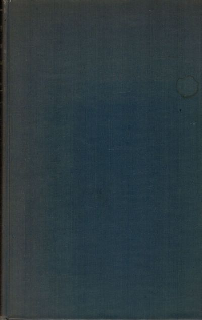 Boston: Merrymount Press, 1932. First edition. Hardcover. Orig. navy cloth. Very good. 227 pages. In...