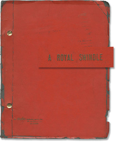 New York: 101 Productions, 1967. First Draft script for an unproduced musical, with book by