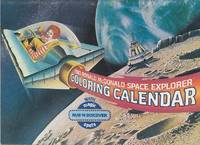 image of 1983 Ronald McDonald Space Explorer Coloring Calendar With Magic Rub'n Discover Spots