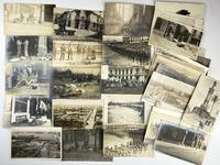 [Collection of Thirty Real Photo Postcards Documenting the Invasion of Veracruz]