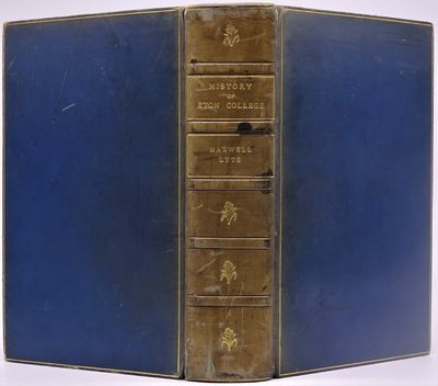 London: Macmillan and Co, Limited, 1899. In contemporary full blue calf signed by Bickers & Son, fiv...