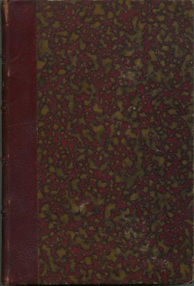 Santiago de Chile: Imprenta y Libreria Artes y Letras, 1921. First edition. Quarter morocco over mar...