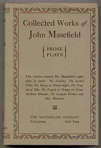 New York: The Macmillan Company, 1925. Hardcover. Near Fine/Fine. First edition. Spine slightly tone...