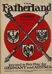 Editor's Archive Copy, Pro German WWI propaganda periodical 'The Fatherland', the Entire Run Vols I - VI, 1914 -1917, a total of 132 issues