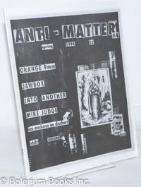 image of Anti-Matter: #4, Spring 1994