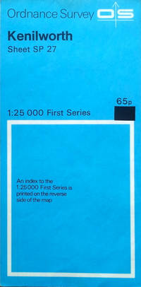1:25,000 First  Series: Kenilworth sheet SP 27