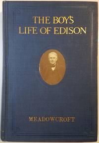 Thomas Edison Signed The Biography The Boy's Life Of Edison
