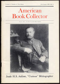 American Book Collector: New Series, Volume 3, Number 4, July/August 1982