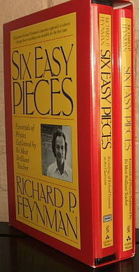 Six Easy Pieces: Essentials of Physics Explained by Its Most Brilliant Teacher by  Richard P Feynman - Hardcover - 1994 - from The Wild Muse and Biblio.com