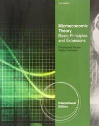 image of Microeconomic Theory: Basic Principles and Extensions.