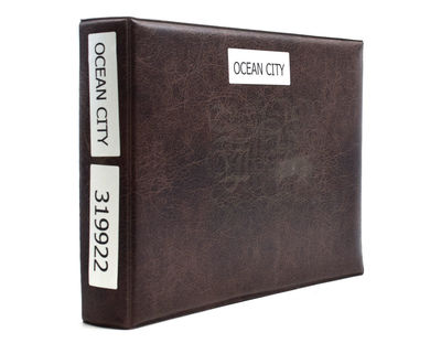 1955. Most accomplished. Oblong 4to. In brown plastic album. Most accomplished. Oblong 4to. With 20 ...