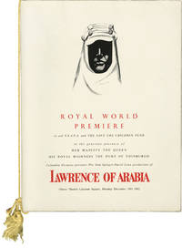 image of Lawrence of Arabia (Original program for the world premiere showing of the 1962 film)