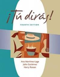 Tu diras (with Audio CD) (Tú dirás) (World Languages)