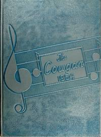 image of The Cougar 1954 Kutztown Area High School Yearbook