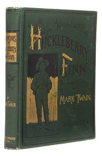 Adventures of Huckleberry Finn (Tom Sawyer's Comrade). by  MARK TWAIN - First Edition - 1885 - from 19th Century Rare Book and Photograph Shop and Biblio.com