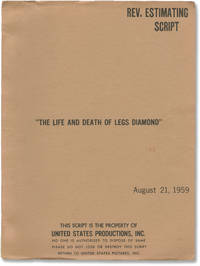 image of The Rise and Fall of Legs Diamond [The Life and Death of Legs Diamond] (Original screenplay for the 1960 film, copy belonging to actor Martin Landau)