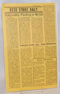image of UCSD Strike Daily. Issue No. 2 (Thursday, May 22, 1969)