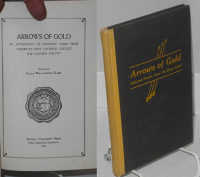 New Orleans: Xavier University Press, 1941. Hardcover. x, 85, p., very good hardcover, title and arr...