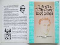 image of I'll sing you a thousand love songs: the Denny Dennis story