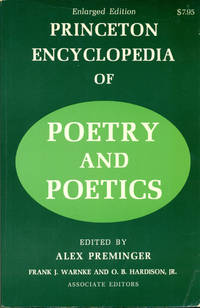 PRINCETON ENCYCLOPEDIA OF POETRY & POLITICS (Enlarged Edition)