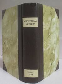 The Analytical Review August--December 1798 (Five monthly issues complete)