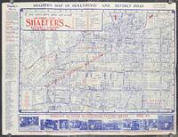 Shaefer's Map of Hollywood and Beverly Hills.