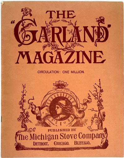 Detroit: The Michigan Stove Company, c. 1903. Staplebound. Orange illustrated wraps. Near fine. 16 p...