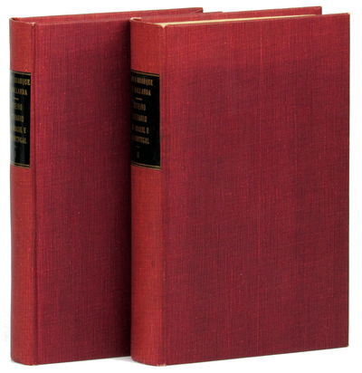 Rio de Janeiro: Jose Olympio, 1956. Hardcover. Very good. xx, 369pp; xiv, 370-882pp. Two volumes, bo...