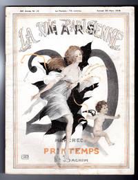 La Vie Parisienne - Samedi 30 Mars 1918. Art Deco/Nouveau. Illustrations by Georges Leonnec, Leo Fontan, Georges Pavis, Chéri Herouard, Vald'Es (Valvérane & D'Espagnat), Martin, A. Galland, others uncredited