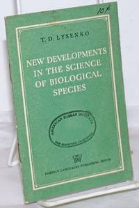 image of New developments in the science of biological species