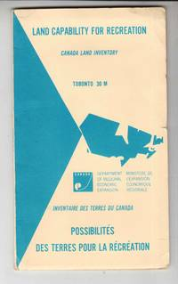 Land Capability for Recreation - Canada Land Inventory Toronto 31 M
