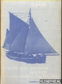 De Nederlandse zeevisserij tijdens de Eerste Wereldoorlog 1914-1918 by  D.J Gouda - Paperback - 1978 - from Klondyke and Biblio.co.uk