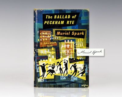London: Macmillan, 1960. First edition of this satirical gem from the