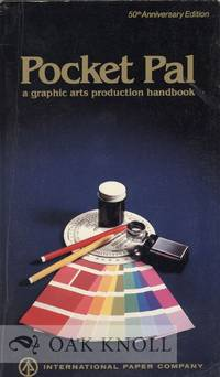 image of POCKET PAL, A GRAPHIC ARTS DIGEST FOR PRINTERS AND ADVERTISING PRODUCT