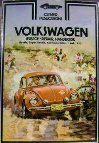 Volkswagen Service and Repair Book: Beetle, Super Beetle, Karmann Ghia  1961-1972