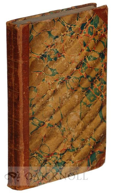 Philadelphia, PA: Mitchell and Hinman, 1834. contemporary half leather, marbled paper-covered boards...